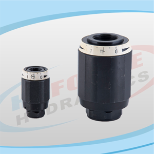 MK Series Throttle Check Valves & MG Series Throttle Valves