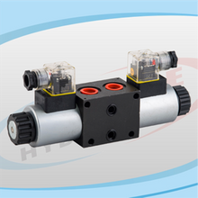 DL4WE Series Solenoid Operated Directional Control Stackable Valves
