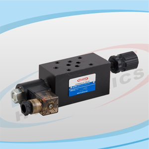 MSTV Series Modular Solenoid Operated Throttle Valves
